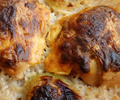 Лесни пилешки рула с ориз